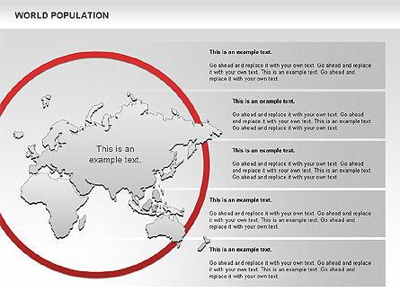 World Economy Diagram, Slide 8, 00820, Business Models — PoweredTemplate.com
