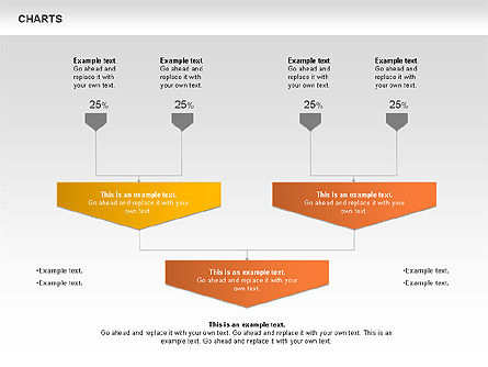 Charts, Slide 10, 00821, Business Models — PoweredTemplate.com