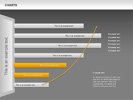 Charts, Slide 14, 00821, Business Models — PoweredTemplate.com