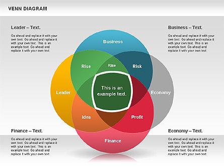Colorful Venn Diagram, Slide 2, 00822, Business Models — PoweredTemplate.com