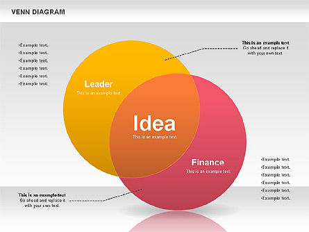 Colorful Venn Diagram, Slide 3, 00822, Business Models — PoweredTemplate.com
