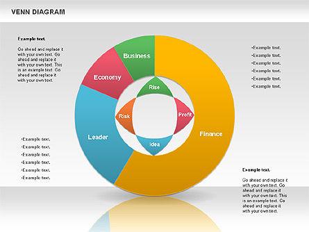 Colorful Venn Diagram, Slide 4, 00822, Business Models — PoweredTemplate.com