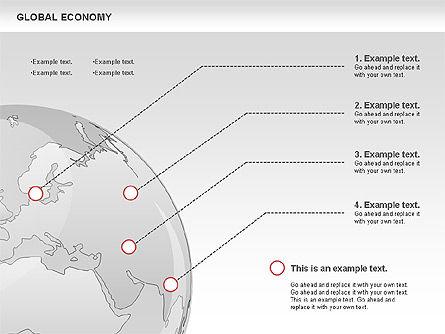 Global Economy, Slide 4, 00823, Business Models — PoweredTemplate.com
