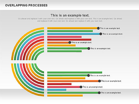 Process Diagrams: Overlapping Processes Diagram #00824