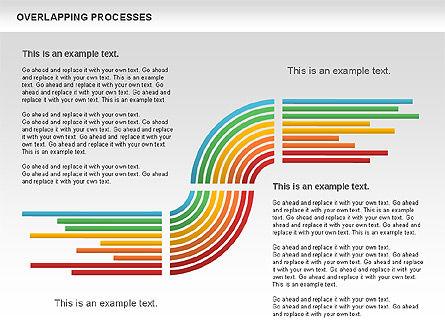 Overlapping Processes Diagram, Slide 8, 00824, Process Diagrams — PoweredTemplate.com