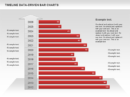 Timelines & Calendars: Timeline Data-Driven Bar Charts #00826