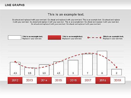 Line Graphs, Slide 7, 00830, Graph Charts — PoweredTemplate.com