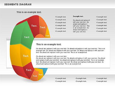 Segments Diagram, Slide 2, 00831, Business Models — PoweredTemplate.com