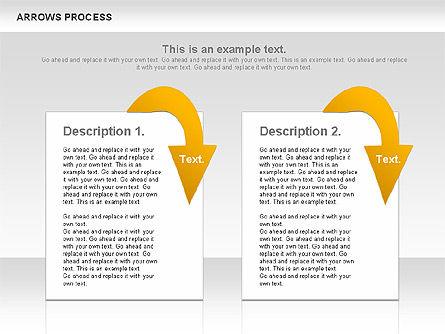Arrows Process, Slide 10, 00832, Process Diagrams — PoweredTemplate.com