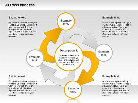 Arrows Process, Slide 11, 00832, Process Diagrams — PoweredTemplate.com