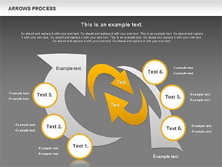 Arrows Process, Slide 12, 00832, Process Diagrams — PoweredTemplate.com