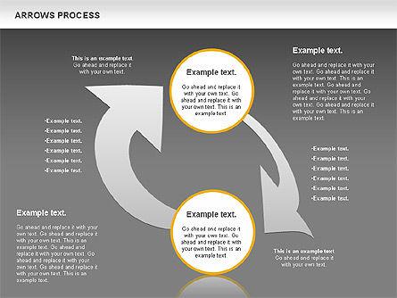 Arrows Process, Slide 13, 00832, Process Diagrams — PoweredTemplate.com