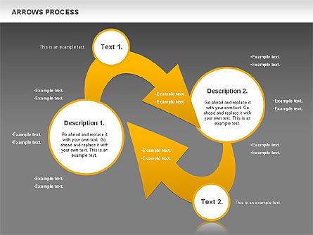Arrows Process, Slide 14, 00832, Process Diagrams — PoweredTemplate.com
