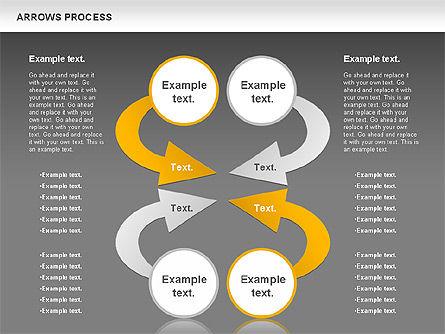 Arrows Process, Slide 15, 00832, Process Diagrams — PoweredTemplate.com