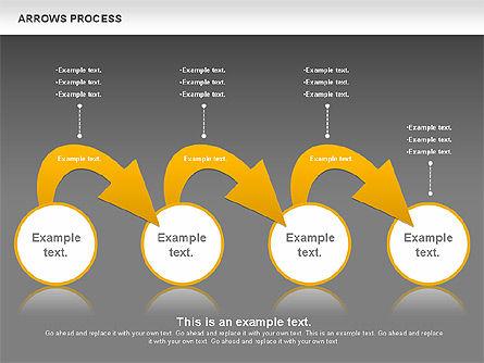 Arrows Process, Slide 16, 00832, Process Diagrams — PoweredTemplate.com