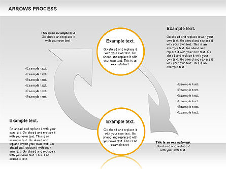 Arrows Process, Slide 2, 00832, Process Diagrams — PoweredTemplate.com