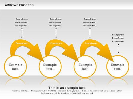 Arrows Process, Slide 5, 00832, Process Diagrams — PoweredTemplate.com