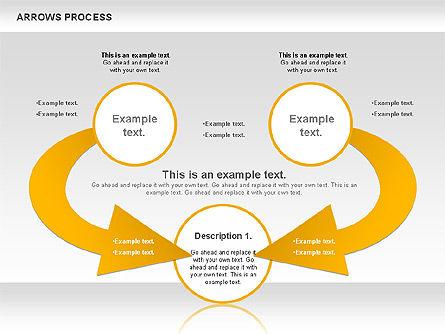 Arrows Process, Slide 6, 00832, Process Diagrams — PoweredTemplate.com
