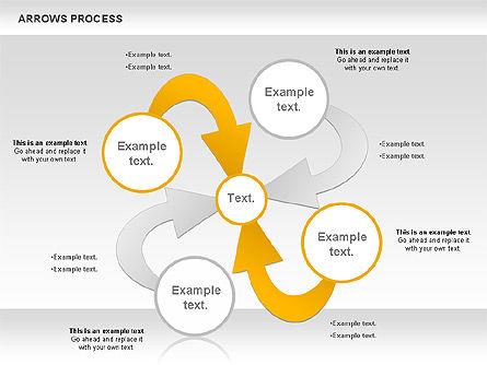 Arrows Process, Slide 7, 00832, Process Diagrams — PoweredTemplate.com