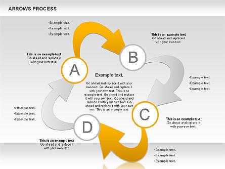 Arrows Process, Slide 9, 00832, Process Diagrams — PoweredTemplate.com