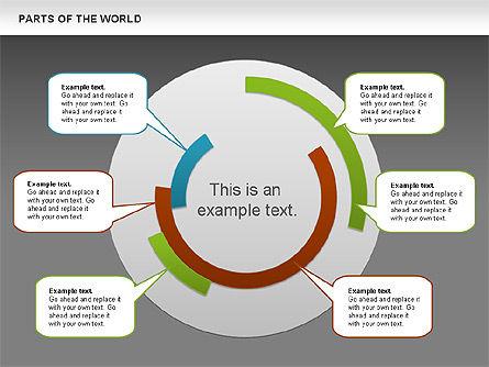 Parts of the World, Slide 10, 00833, Presentation Templates — PoweredTemplate.com
