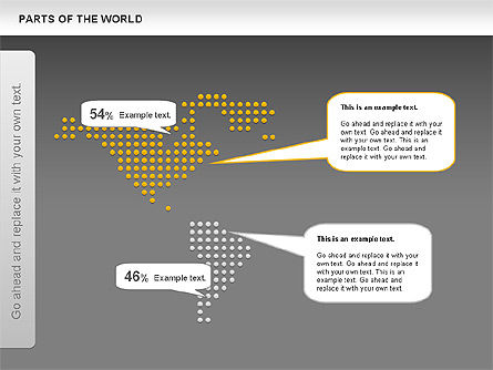 Parts of the World, Slide 11, 00833, Presentation Templates — PoweredTemplate.com