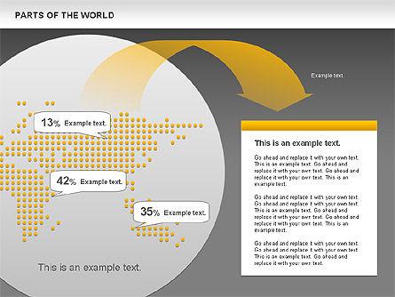 Parts of the World, Slide 12, 00833, Presentation Templates — PoweredTemplate.com