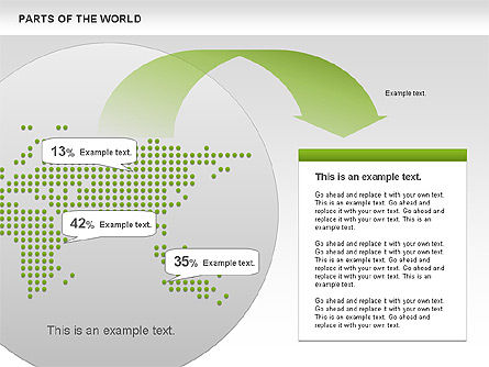 Parts of the World, Slide 4, 00833, Presentation Templates — PoweredTemplate.com