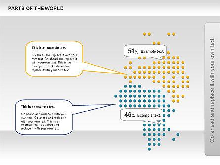 Parts of the World, Slide 6, 00833, Presentation Templates — PoweredTemplate.com