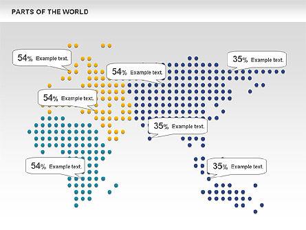 Parts of the World, Slide 8, 00833, Presentation Templates — PoweredTemplate.com