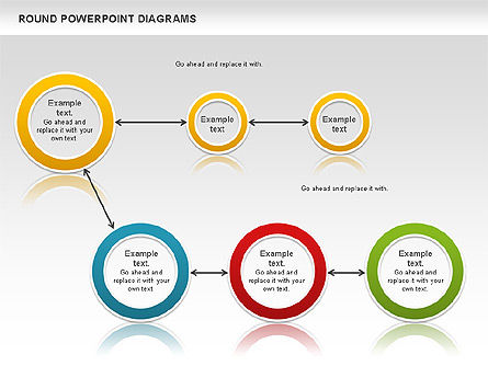 Round Diagrams, Slide 2, 00836, Business Models — PoweredTemplate.com