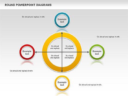 Round Diagrams, Slide 3, 00836, Business Models — PoweredTemplate.com