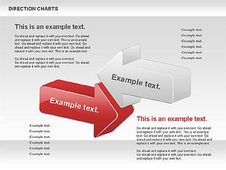Direction Chart , Slide 2, 00839, Business Models — PoweredTemplate.com