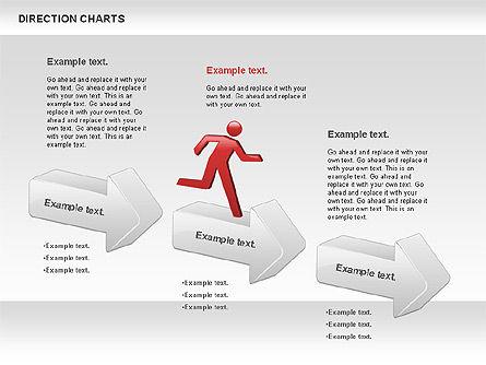 Direction Chart , Slide 3, 00839, Business Models — PoweredTemplate.com
