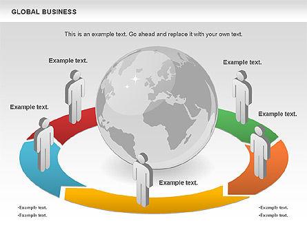 Global Business Diagram, Slide 11, 00840, Puzzle Diagrams — PoweredTemplate.com