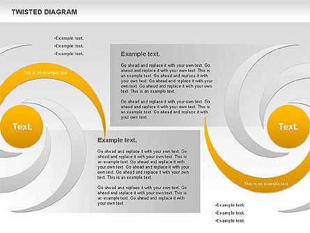 Twisted Diagram, Slide 10, 00843, Business Models — PoweredTemplate.com