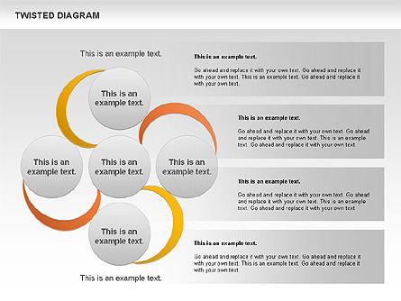 Twisted Diagram, Slide 11, 00843, Business Models — PoweredTemplate.com