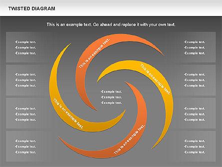 Twisted Diagram, Slide 15, 00843, Business Models — PoweredTemplate.com