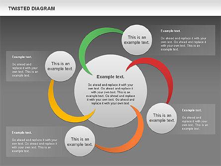 Twisted Diagram, Slide 16, 00843, Business Models — PoweredTemplate.com