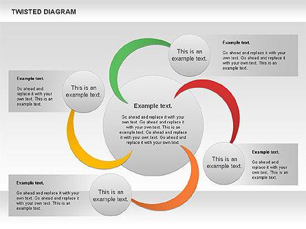 Twisted Diagram, Slide 5, 00843, Business Models — PoweredTemplate.com