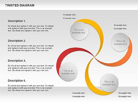 Twisted Diagram, Slide 8, 00843, Business Models — PoweredTemplate.com