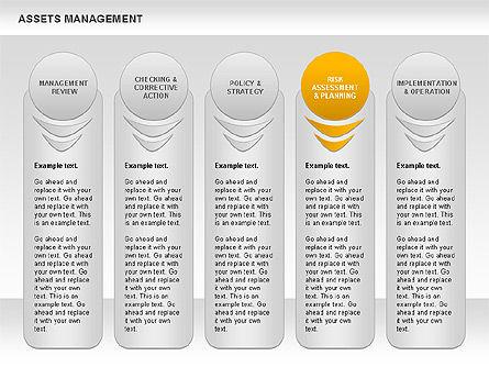 Asset Management Rounded Diagram, Slide 11, 00845, Business Models — PoweredTemplate.com