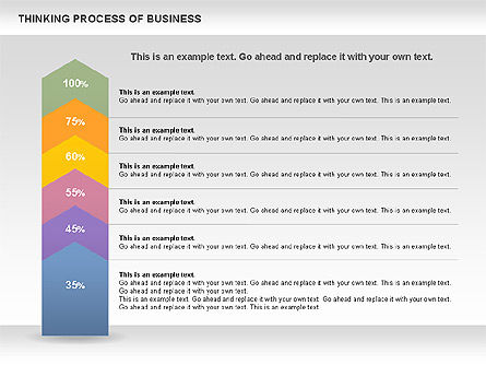 Thinking Process of Business, Slide 4, 00846, Business Models — PoweredTemplate.com