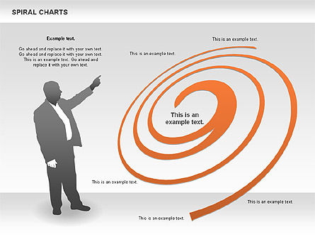 Spiral Chart, Slide 2, 00848, Business Models — PoweredTemplate.com