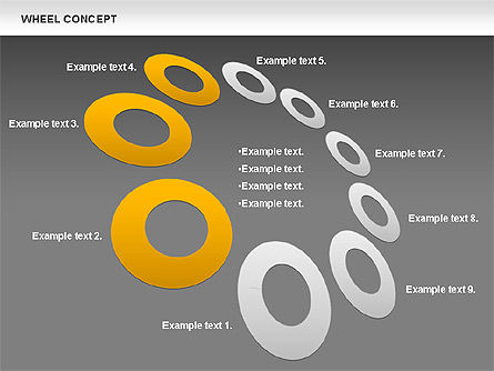 Wheel Concept, Slide 12, 00849, Business Models — PoweredTemplate.com