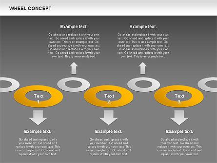 Wheel Concept, Slide 13, 00849, Business Models — PoweredTemplate.com