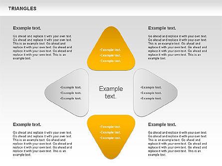 Triangle Shapes, Slide 7, 00850, Shapes — PoweredTemplate.com