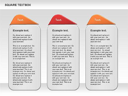 Square Textbox, Slide 5, 00851, Text Boxes — PoweredTemplate.com