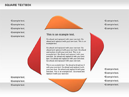 Square Textbox, Slide 7, 00851, Text Boxes — PoweredTemplate.com