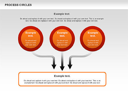 Process Circles Diagram, Slide 2, 00852, Process Diagrams — PoweredTemplate.com